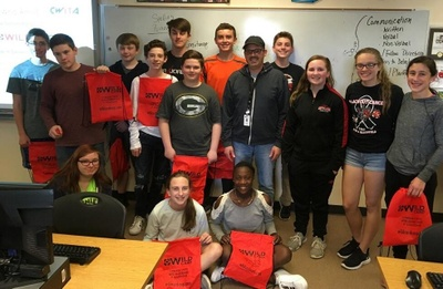 Our Program Manager met with 8th grade students at Ben Franklin School for a College & Career Readiness: Information Technology presentation through CWITA. Here are our future leaders in technology!