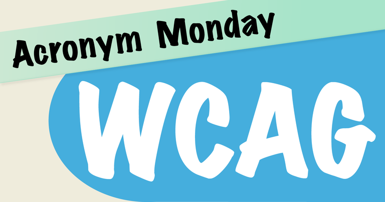 Acronym Monday