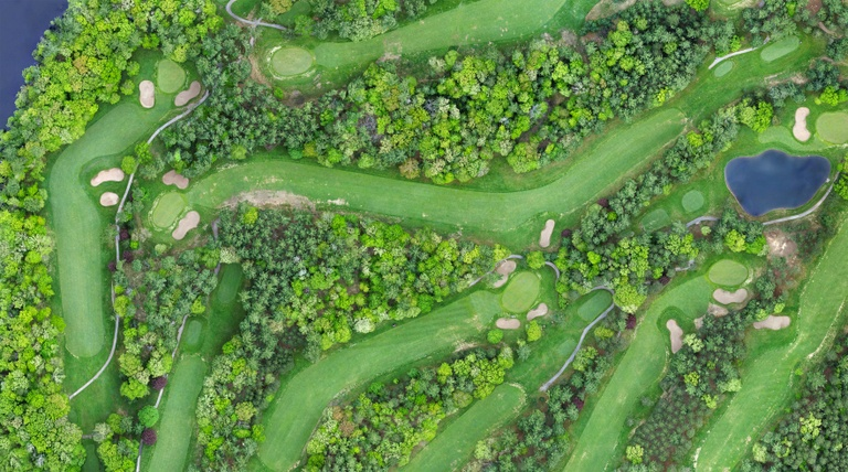 Arial View - Golf Course