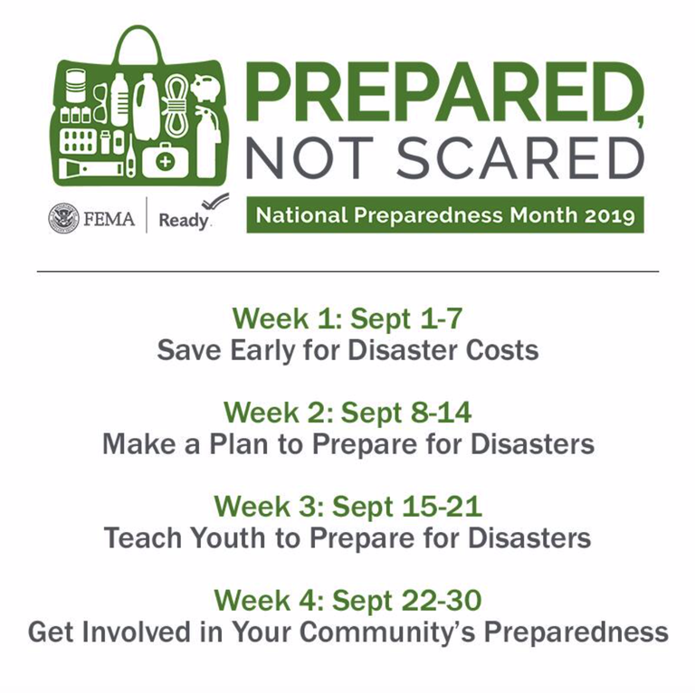 NTL Prep Month 2019 Schedule