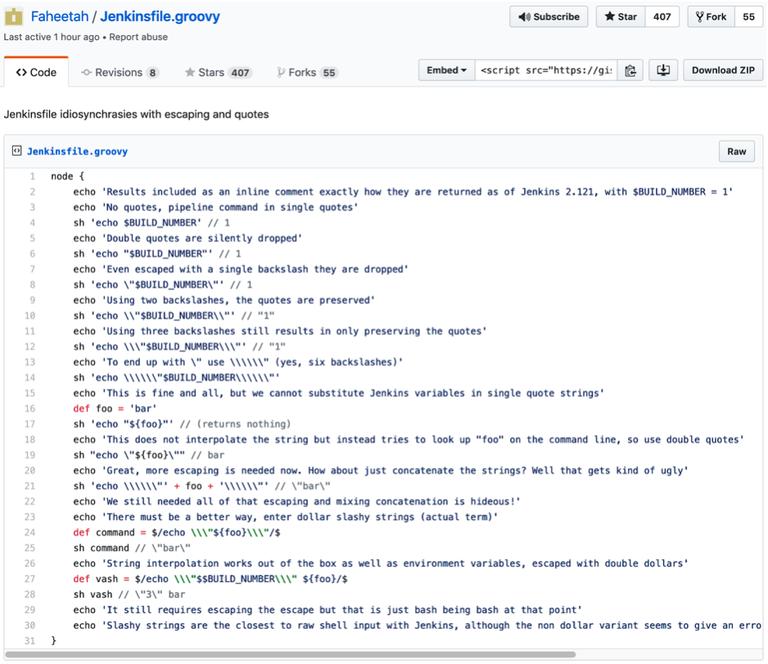 Jenkins Files Example Screenshot 1