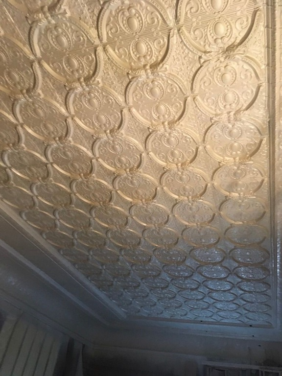 Restored Tin Ceiling