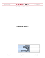 Firewall Policy Template