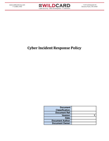 PCI Incident Response Policy Template